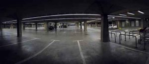 big garage panorama
