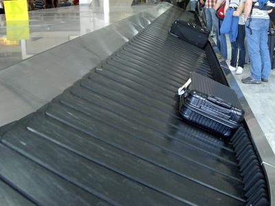 Gepäckverlust am Flughafen