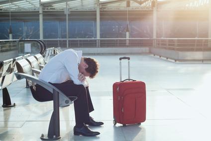 Was passiert, wenn mein Flugzeug verspätet landet?